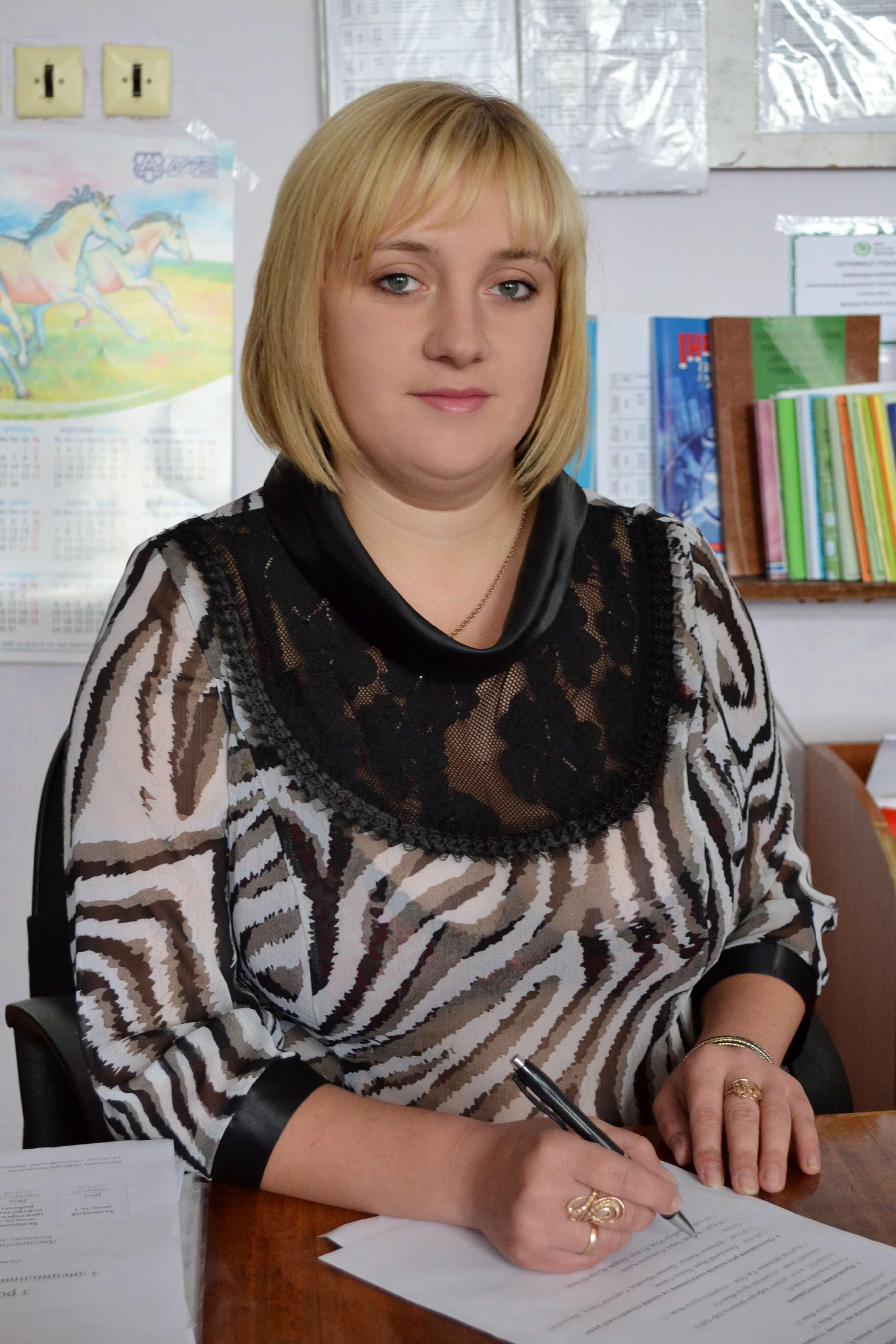 ТИСЬКО Мар'яна Михайлівна